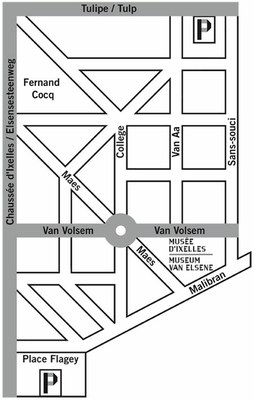 Plan d'accès au Musée