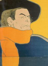 H. de TOULOUSE-LAUTREC, Eldorado-Aristide Bruant, 1892