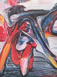 S. BALLEUX, Paintingpainting 16 (detail), 2006, copyright S. Balleux